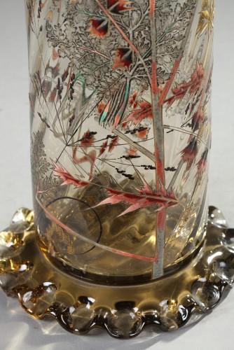 "19th century - Vase ""Cristallerie"" - GALLÉ"