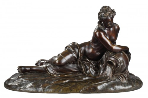 Spring - unsigned 19th c. sculpture