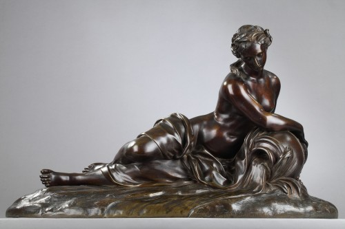 Spring - unsigned 19th c. sculpture - Sculpture Style