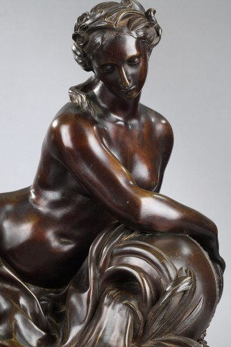 Spring - unsigned 19th c. sculpture -