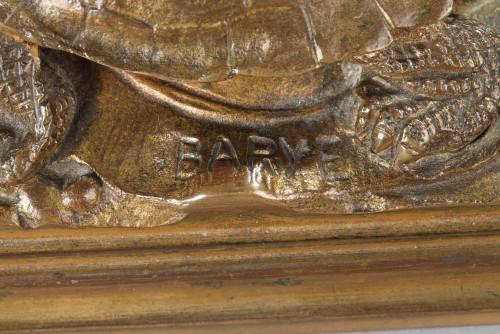 - Turtle - Antoine-Louis BARYE (1796-1875)