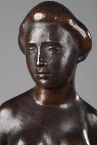 Femme au Chignon, also named Baigneuse Debout - Aristide MAILLOL (1861-1944 - Art Déco