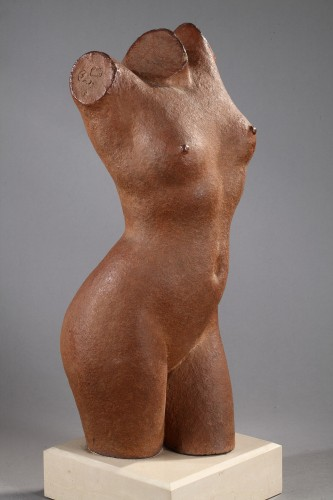 Sculpture  - Torso of a young woman - Marcel GIMOND (1894-1961)