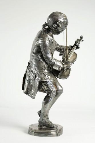 Mozart as a child - Louis-Ernest BARRIAS (1841-1905) - Sculpture Style