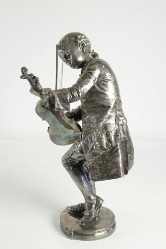 Sculpture  - Mozart as a child - Louis-Ernest BARRIAS (1841-1905)