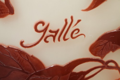 Ground cherries Vase - GALLÉ -