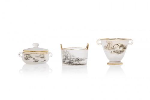 Glass & Crystal  - Miniature of Tureen shape - Daum