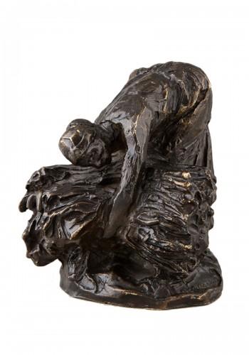 Hay binder - Aimé-Jules DALOU (1838-1902)