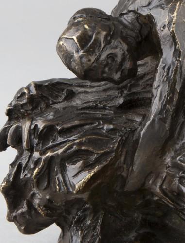 Hay binder - Aimé-Jules DALOU (1838-1902) - Sculpture Style