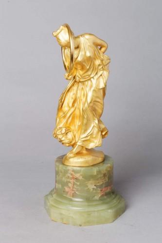 Danseuse au Cerceau - Jean-Léon GEROME (1824-1904) - Sculpture Style Art nouveau