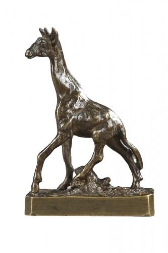 Giraffe - Christophe FRATIN (1801-1864)