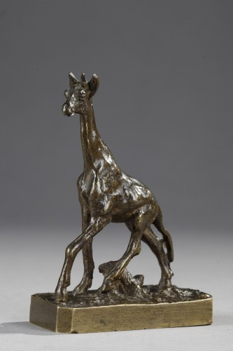 Girafe - Christophe FRATIN (1801-1864) - Sculpture Style Louis-Philippe