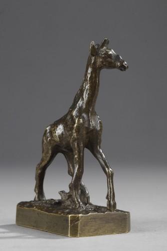 Sculpture  - Giraffe - Christophe FRATIN (1801-1864)