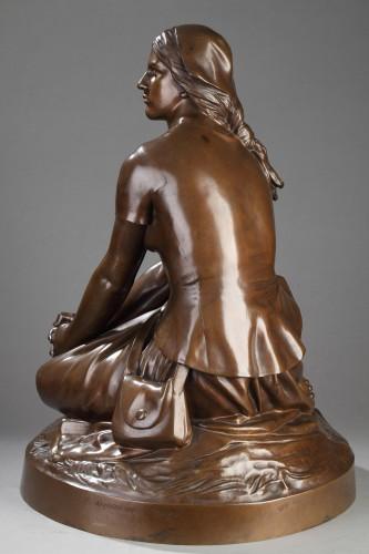 Joan of Arc in Domrémy - Henri Michel CHAPU (1833-1891) -