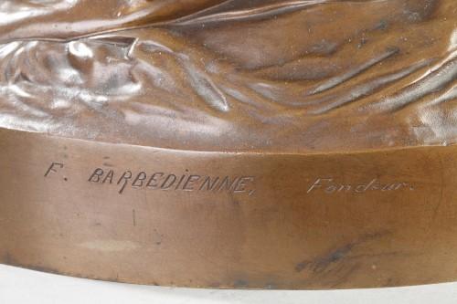 - Joan of Arc in Domrémy - Henri Michel CHAPU (1833-1891)