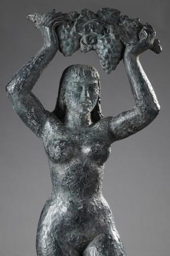 La Vigne - Lucien GIBERT (1904-1988) - Sculpture Style