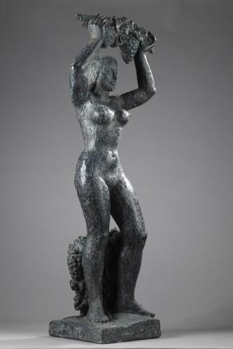 Sculpture  - La Vigne - Lucien GIBERT (1904-1988)