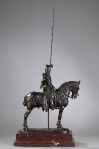 Duke of Orleans - Emmanuel FREMIET (1824-1910) - Sculpture Style Napoléon III