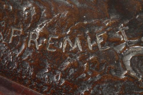 Sculpture  - Duke of Orleans - Emmanuel FREMIET (1824-1910)