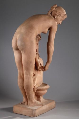 Girl at the fountain - Alexandre SCHOENEWERK (1820-1885) -