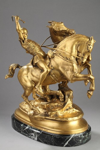 Sculpture  - Chariot Driver - Emmanuel FREMIET (1824-1910)