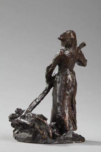 Sculpture  - Ramasseuse de Foin - Aimé-jules DALOU (1838-1902)