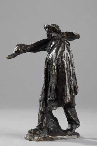 Man with Shovel Going to Work - Aimé-Jules DALOU (1838-1902) - Sculpture Style