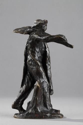 Sculpture  - Man with Shovel Going to Work - Aimé-Jules DALOU (1838-1902)