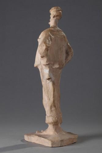Sculpture  - The Monocled Gentleman - Bernhard Hoetger (1874-1949)