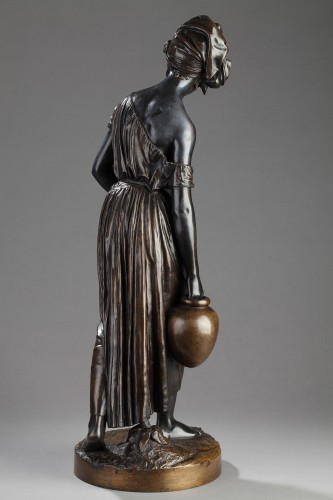 Sculpture  - Black slave carrying water - Charles CUMBERWORTH (1811-1852)