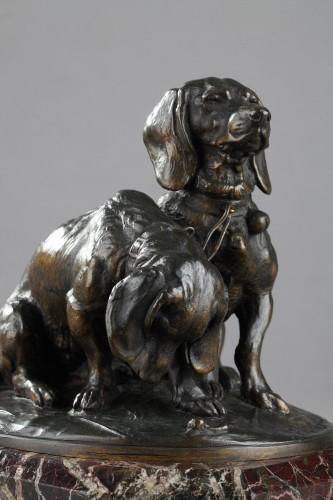 Ravageot and Ravageode - Emmanuel FREMIET (1824-1910) - Sculpture Style Napoléon III