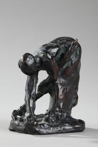Sculpture  - Potato Harvester - Aimé-jules Dalou (1838-1902)