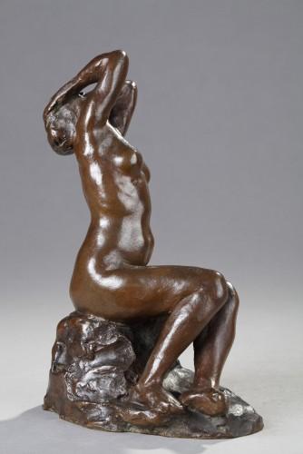 The Despair - Aimé-jules Dalou (1838-1902) - Sculpture Style