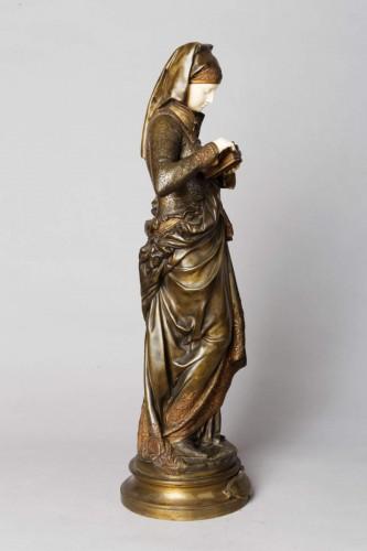 The Reader - Albert-Ernest CARRIER-BELLEUSE (1824-1887) - Sculpture Style