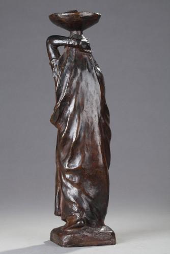Sculpture  - Marché - Eugène L'HOEST (1874-1937)