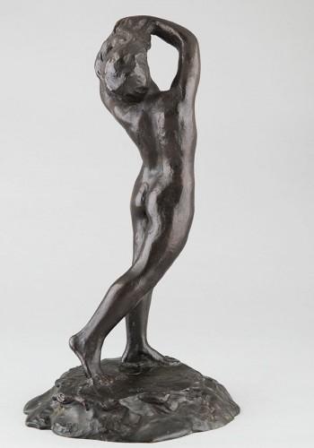 Sculpture  - Female Nude - M. Mac Kain (20th c.)
