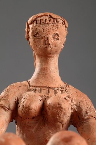 Sculpture  - Seated Woman - Antoniucci VOLTI (1915-1989)