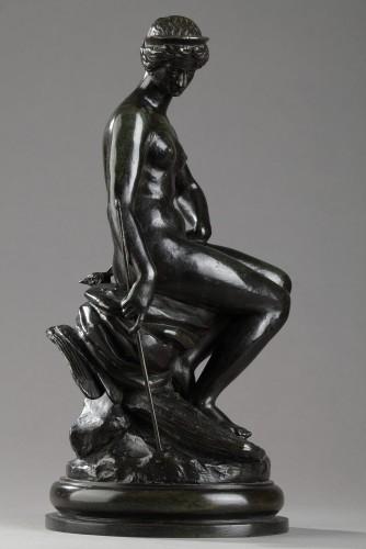 Juno - Antoine-Louis BARYE (1796-1875) - Sculpture Style Napoléon III