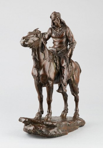 Sculpture  - The Last of a Race - Antoine Bofill (1875-1925)