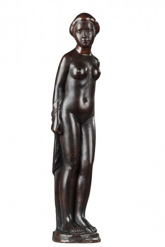 Woman wearing a Top knot also named  Standing Bather - Aristide MAILLOL (18