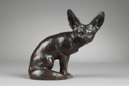 Desert Fox - Edouard-Marcel SANDOZ (1881-1971) - Sculpture Style Art Déco