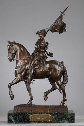 Emmanuel FREMIET (1824-1910) - Saint Hubert, 1520 - Sculpture Style Napoléon III