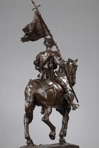 Emmanuel FREMIET (1824-1910) - Saint Hubert, 1520 -