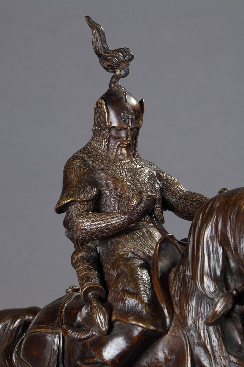 Tartar Warrior Antoine Louis Barye 1796 1875 Ref 73199