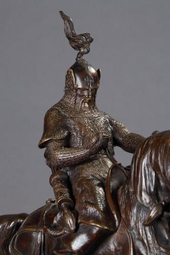 19th century - Tartar Warrior - Antoine-Louis BARYE (1796-1875)