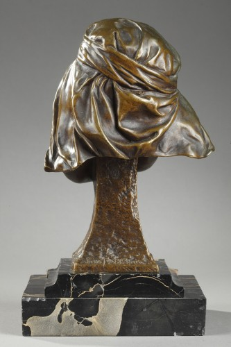 Sculpture  - Bust of a Girl from Bou-Saada - Louis-Ernest BARRIAS (1841-1905)