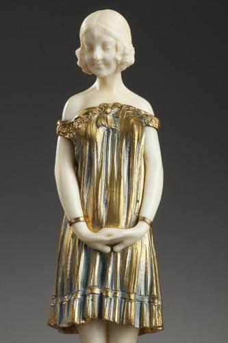 Innocence - Demetre CHIPARUS (1886-1947) - Sculpture Style Art Déco