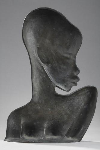 African Woman - Karl HAGENAUER (1898-1956) - Sculpture Style 50