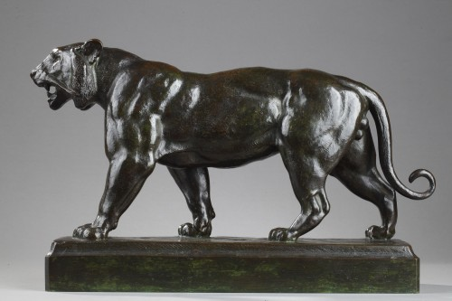 Walking tiger - Antoine-Louis BARYE (1796-1875) -