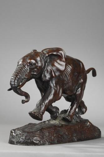 Sculpture  - Elephant from Senegal - Antoine-Louis BARYE (1796-1875)